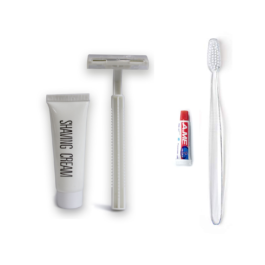 Hotel Toothbrush And Razor Kit