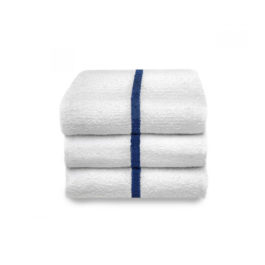 Pool Towel 24″ x 48″ Blue Stripe